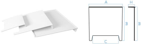 Placa sifón para arquetas prefabricadas de polipropileno